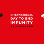 1/11/2018 On the International Day to End Impunity for Crimes against Journalists