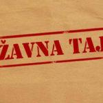 Ministarstvo odbrane da povuče predložene izmjene Zakona o tajnosti podataka