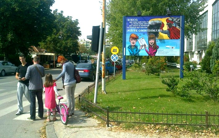 Niksic - billboard 1
