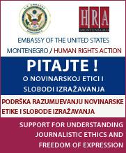Podrška razumijevanju slobode izražavanja i novinarske etike