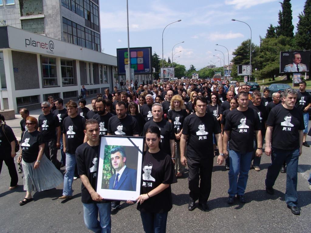 dusko jovanovic godisnjica protestna setnja