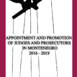 Appointment and Promotion of Judges and Prosecutors in Montenegro 2016-2019
