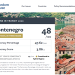 FREEDOM HOUSE REPPORT HIGHLIGHTS CONCERNING STATE OF JUDICIARY IN MONTENEGRO