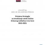 Primjena Strategije za istraživanje ratnih zločina Državnog tužilaštva Crne Gore (2015-2021)