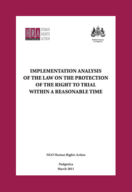 HRA - Analiza primjene zakona o zastiti prava na sudjenje eng
