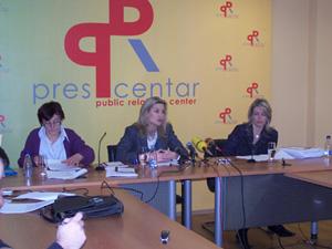 Predstavljanje zaključaka Analize, PR centar, Podgorica, 29.12.2008